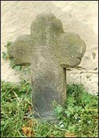 Číslo v centrálním registru: 0742 Datum: 28. 09. 2004 Rozměry: 86 x 60 x 18 cm Popis: kamenný kříž, jehož ramena a hlava jsou zakončeny obloučky, na kříži je text. Stanoviště: kříž stojí v lapidáriu drobných památek u kostela společně s 0227 a 0741. Přesun: dříve stával v obci Libkovice. Přepis textu na kameni: ENTLEIPTT PARTOLOMEVS KINTELMANN SXXX A 1615