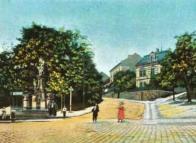 Promenáda u Vogelstange kolem roku 1909