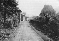 Das Rauschengrunder Glöckl von Rothe aus gesehen V Šumné: pohled na zvoničku od Rothů